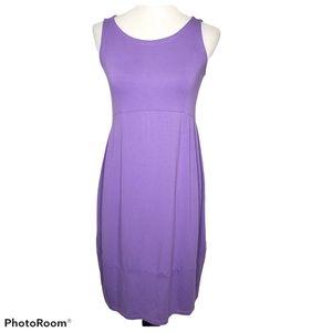 Eileen Fisher Purple Sleeveless Dress size XS